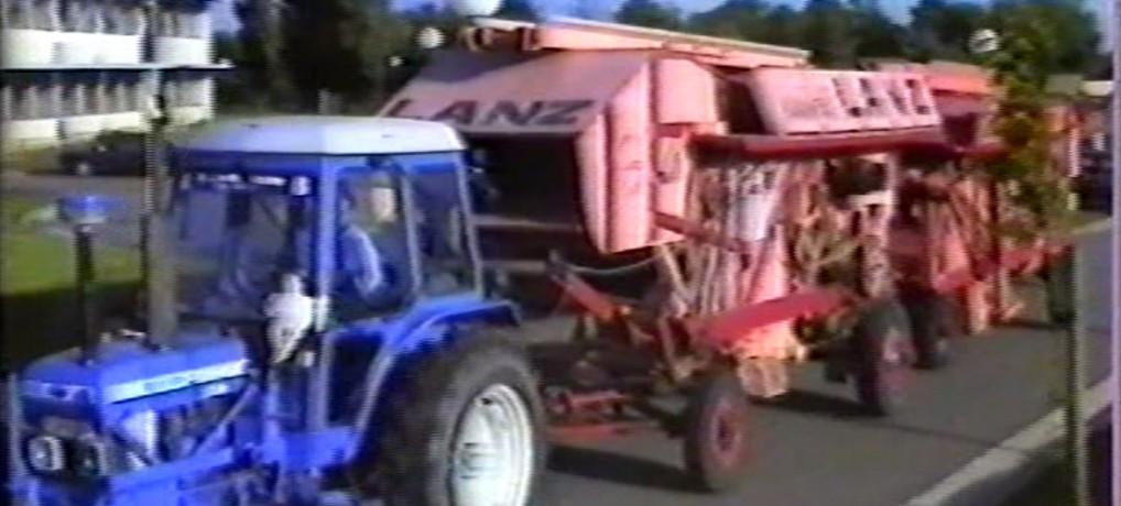 Nationale folkloristische oogstfeesten Tongeren 1985